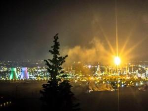 אזור התעשייה במפרץ חיפה (צילום ארכיון: דין בנעים)