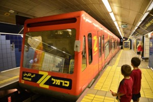 הכרמלית בחיפה (צילום צבי רוגר)